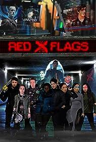 Alex J. Campbell, Charles Jarman, Lia Lam, Nelson Wong, Avery Fane, Rintaro Sawamoto, Harrison Houde, Matreya Scarrwener, Erin Aubrey, Yasushi Takada, Murry Peeters, and Laurence Fg in Red X Flags