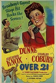 Over 21 (1945) Poster - Movie Forum, Cast, Reviews