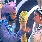 Arjun Sarja and Manisha Koirala in Mudhalvan (1999)