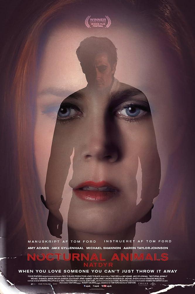 Poster film Nocturnal Animals (2016)