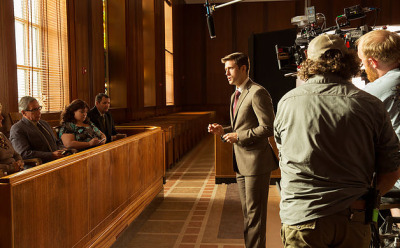 Aaron Tveit in Created Equal (2017)