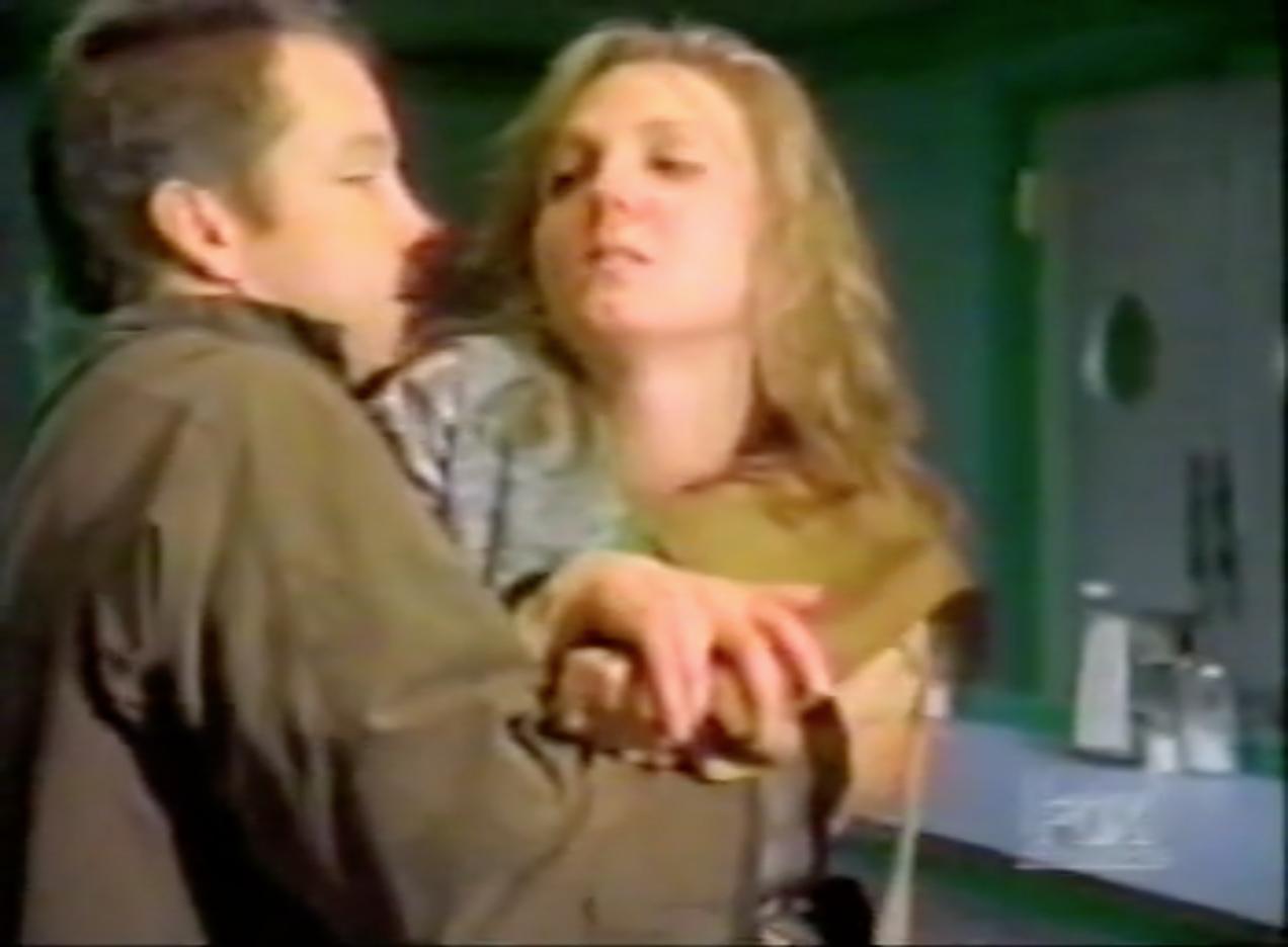 D.B. Sweeney and Katya Gardner in Strange Luck (1995)