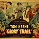 Joan Barclay, James Bush, and Tom Keene in The Glory Trail (1936)