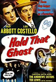 Hold That Ghost Poster