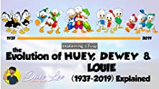 Evolution of Huey, Dewey & Louie (1937-2019)