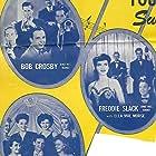 Frank Sinatra, Bob Crosby, Shirley Mills, Ella Mae Morse, Freddie Slack, Bob Crosby Orchestra, and Freddie Slack and His Orchestra in Reveille with Beverly (1943)