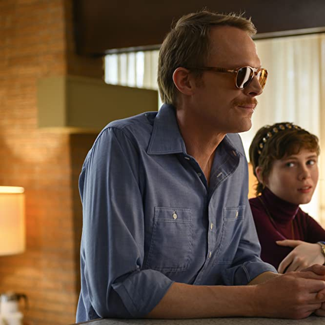Paul Bettany and Sophia Lillis in Uncle Frank (2020)