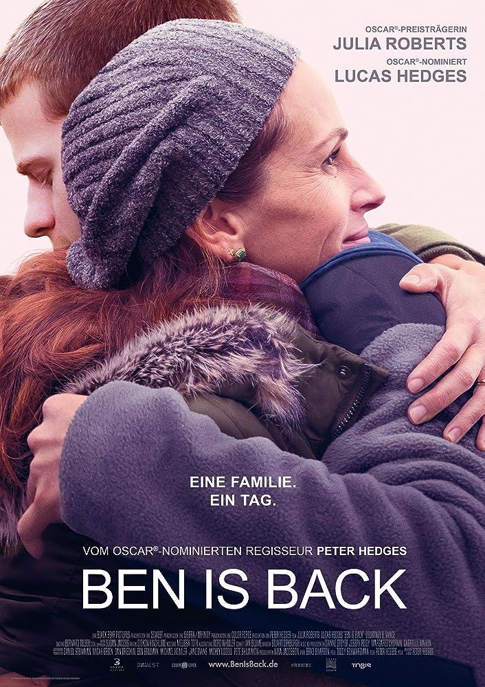 Resultado de imagen para ben is back poster