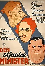 Den stjaalne minister Poster