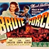 Burt Lancaster and Yvonne De Carlo in Brute Force (1947)