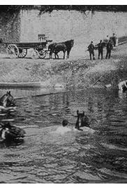 Cuirassiers traversant la Saône à la nage Poster