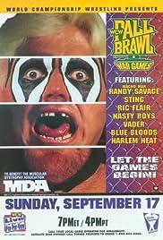 WCW Fall Brawl: War Games Poster