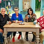 Noel Fielding, Matt Lucas, Prue Leith, and Paul Hollywood in The Great British Bake Off (2010)