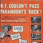 Jack Benny and Ellen Drew in Buck Benny Rides Again (1940)
