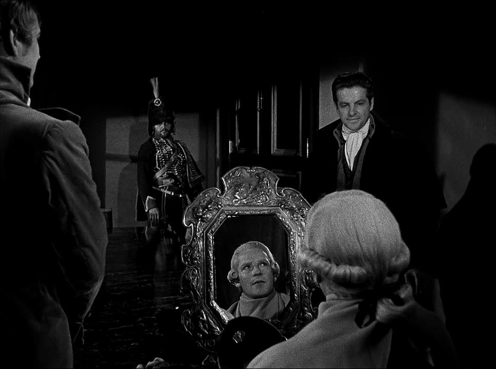 Richard Basehart, Jess Barker, Robert Cummings, and Charles McGraw in Reign of Terror (1949)