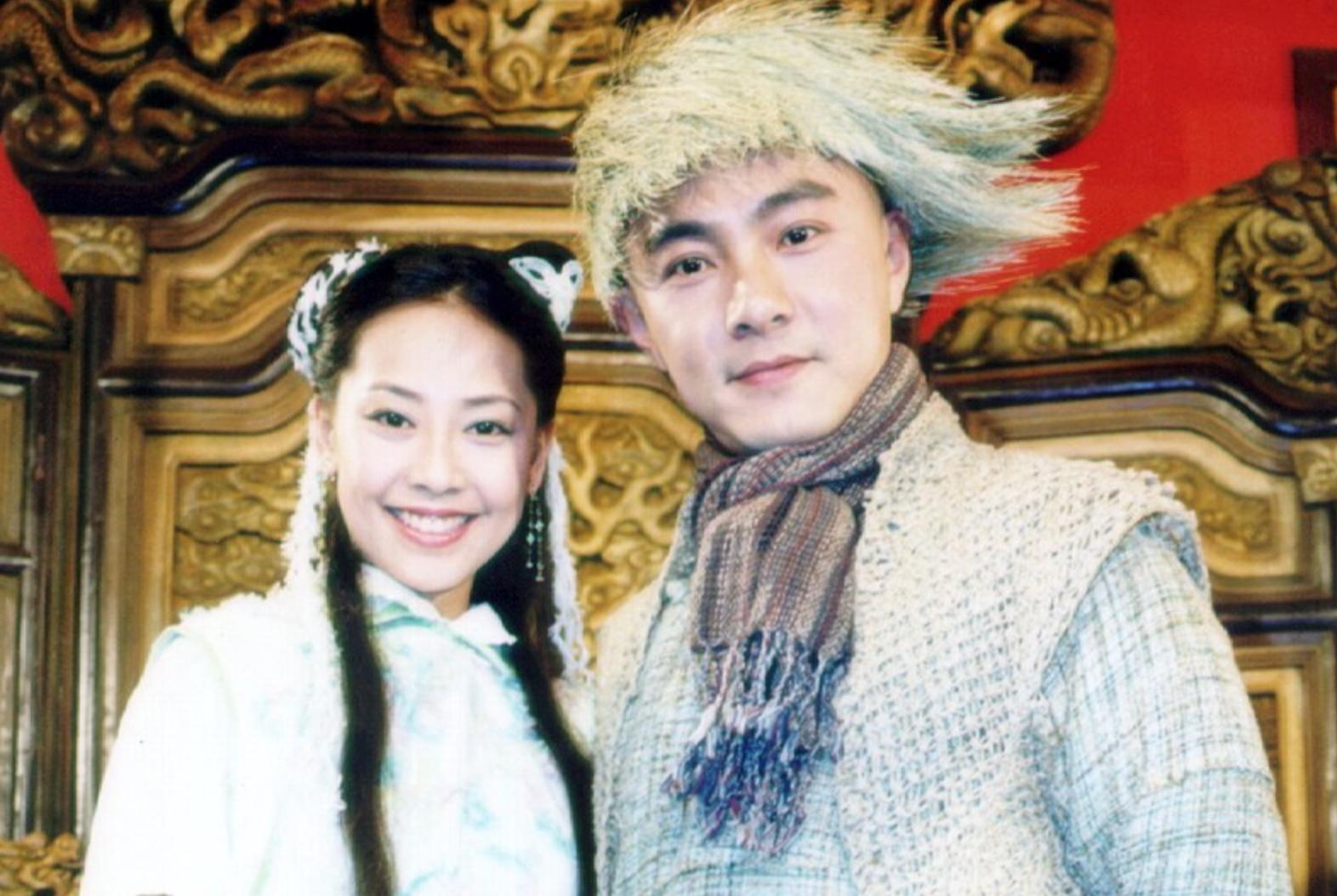 Dicky Cheung and Jess Zhang in The Duke of Mount Deer (2000)