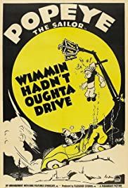 Wimmin Hadn't Oughta Drive Poster