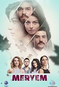 Cemal Toktas, Açelya Topaloglu, Furkan Andic, Ayça Aysin Turan, Serenay Aktas, Bestemsu Özdemir, and Kenan Acar in Meryem (2017)