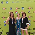 Lane 1974 producer Jennessa West, Star Sophia Mitri Scholss, and Director SJ Chiro on the Blue Carpet Giffoni Film Festival 2017