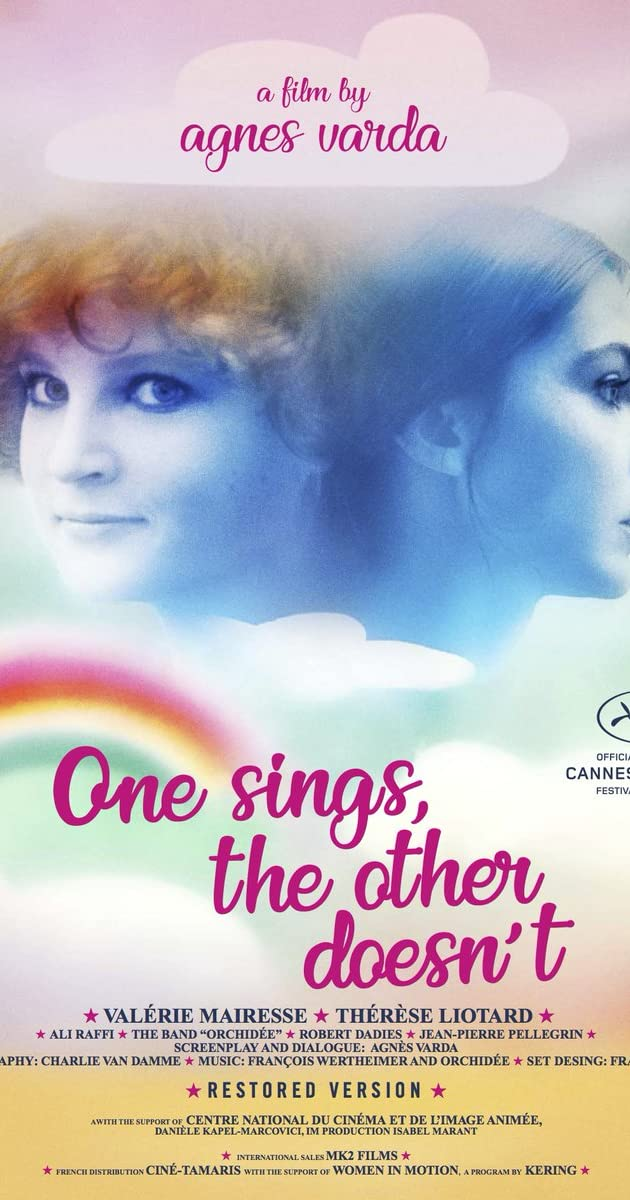 Image result for one sings the other doesn't poster