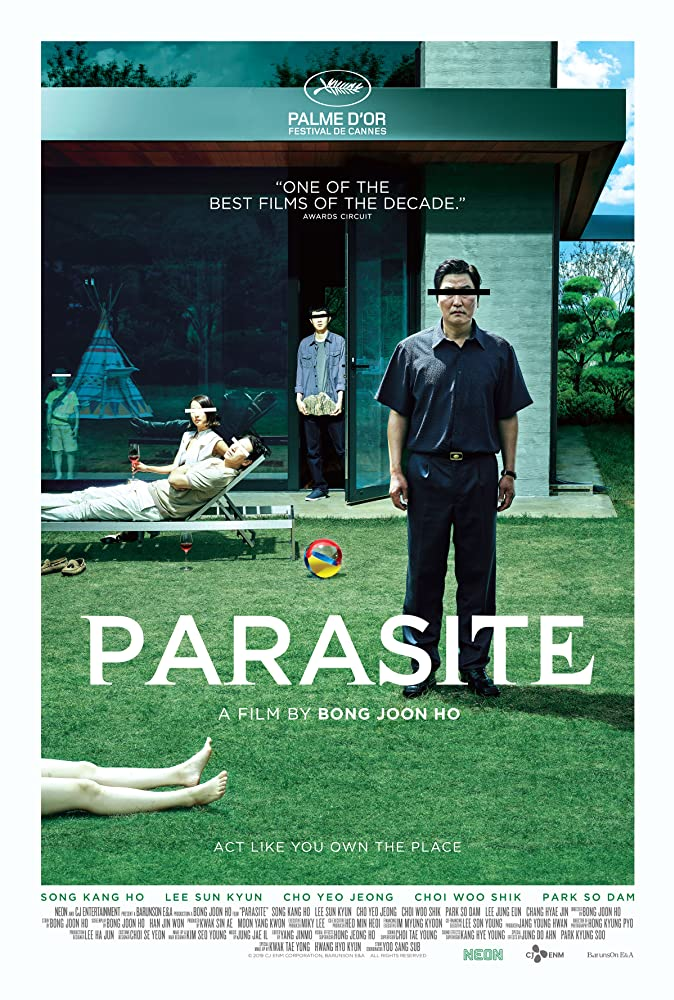 Parasite 2019 ORG Hindi Dubbed 720p BluRay 1GB ESUB