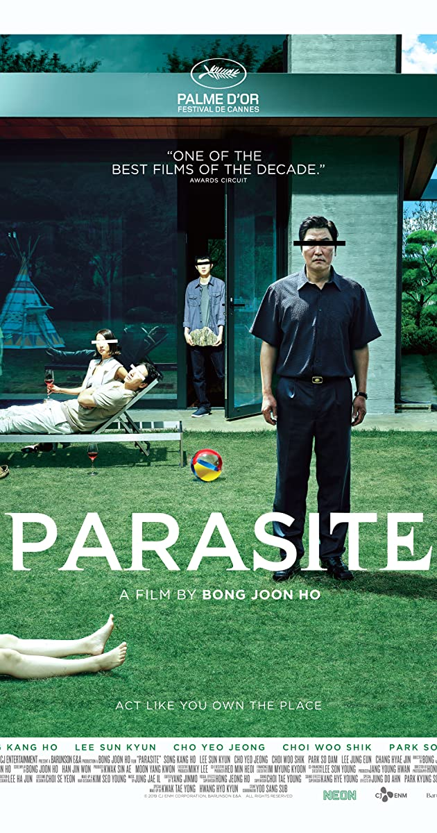 Image result for parasite korean film