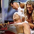Kurt Angle and Adam Copeland in WWE Judgment Day (2002)