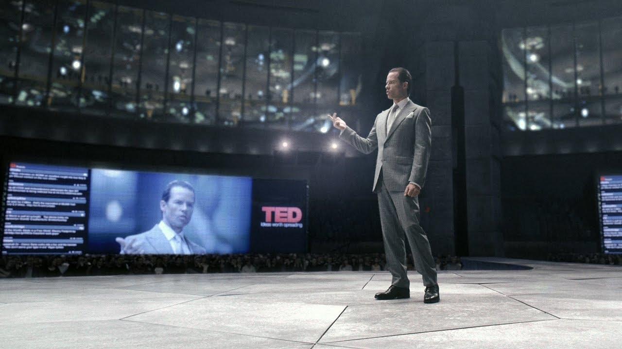 دانلود زیرنویس فارسی فیلم The Peter Weyland Files: TED Conference, 2023