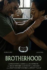 Julia Ling and Ryan Stuart in Bonds of Brotherhood (2017)
