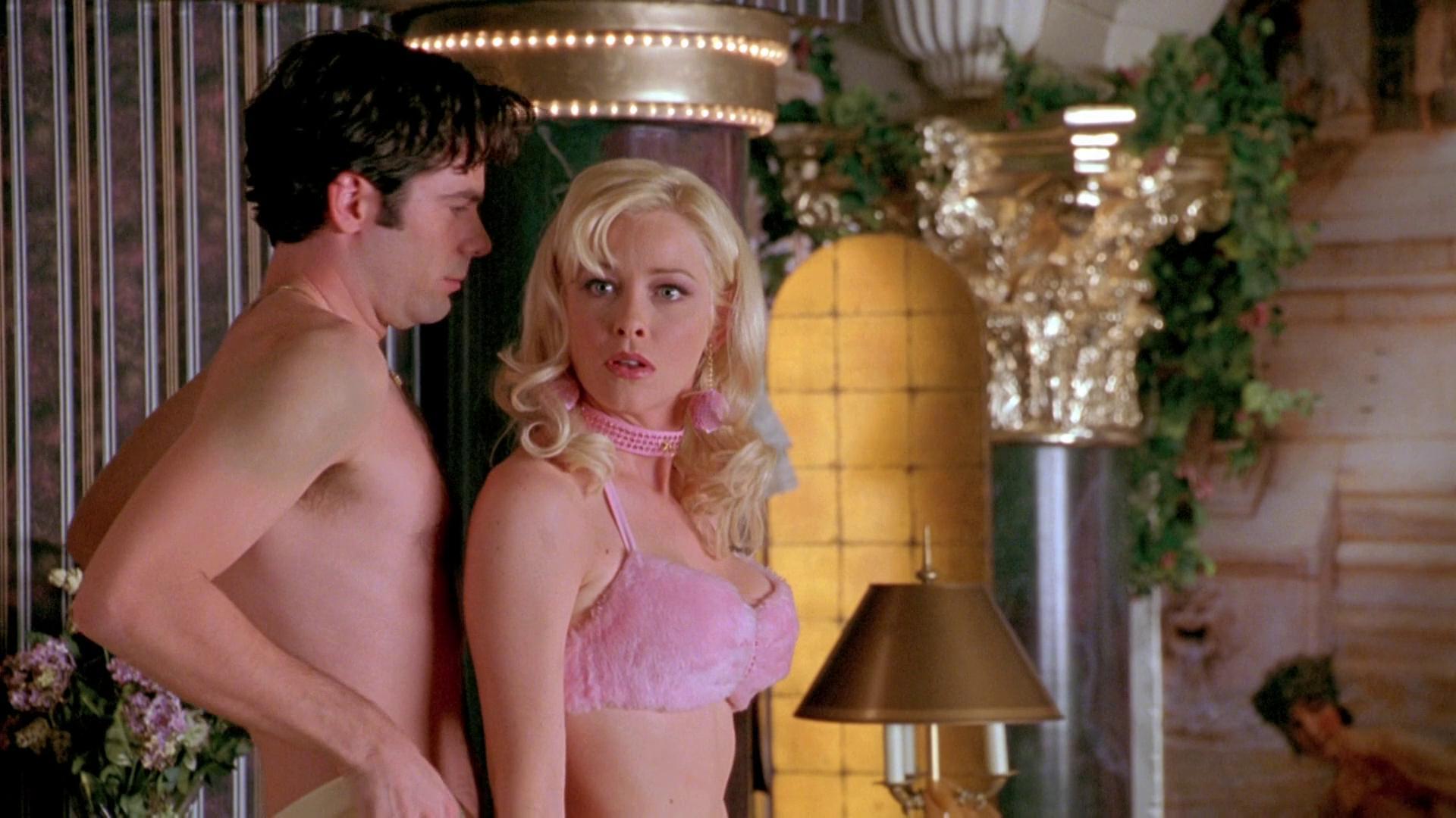 Billy Burke and Pamela Gidley in Jane Austen's Mafia! (1998)