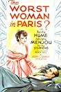 The Worst Woman in Paris? (1933) Poster