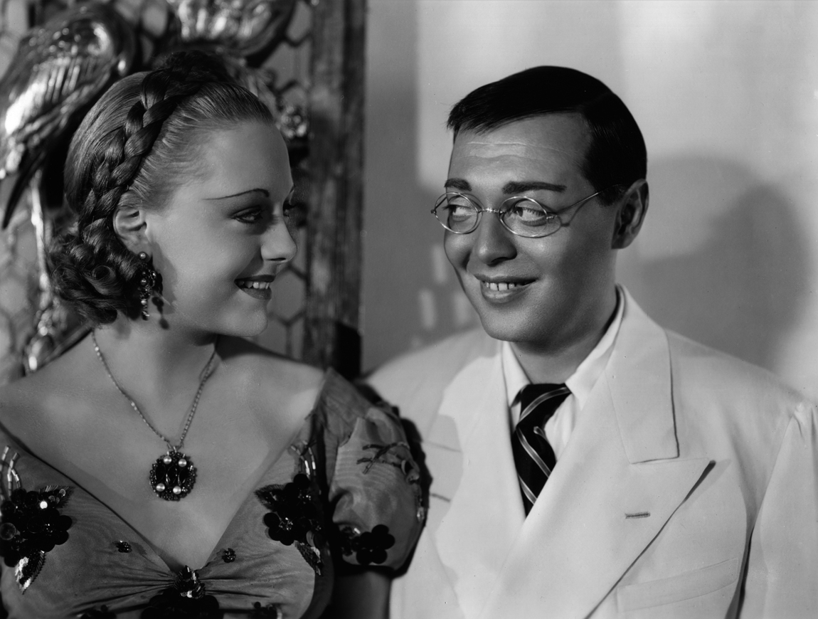 Peter Lorre and Virginia Field in Think Fast, Mr. Moto (1937)