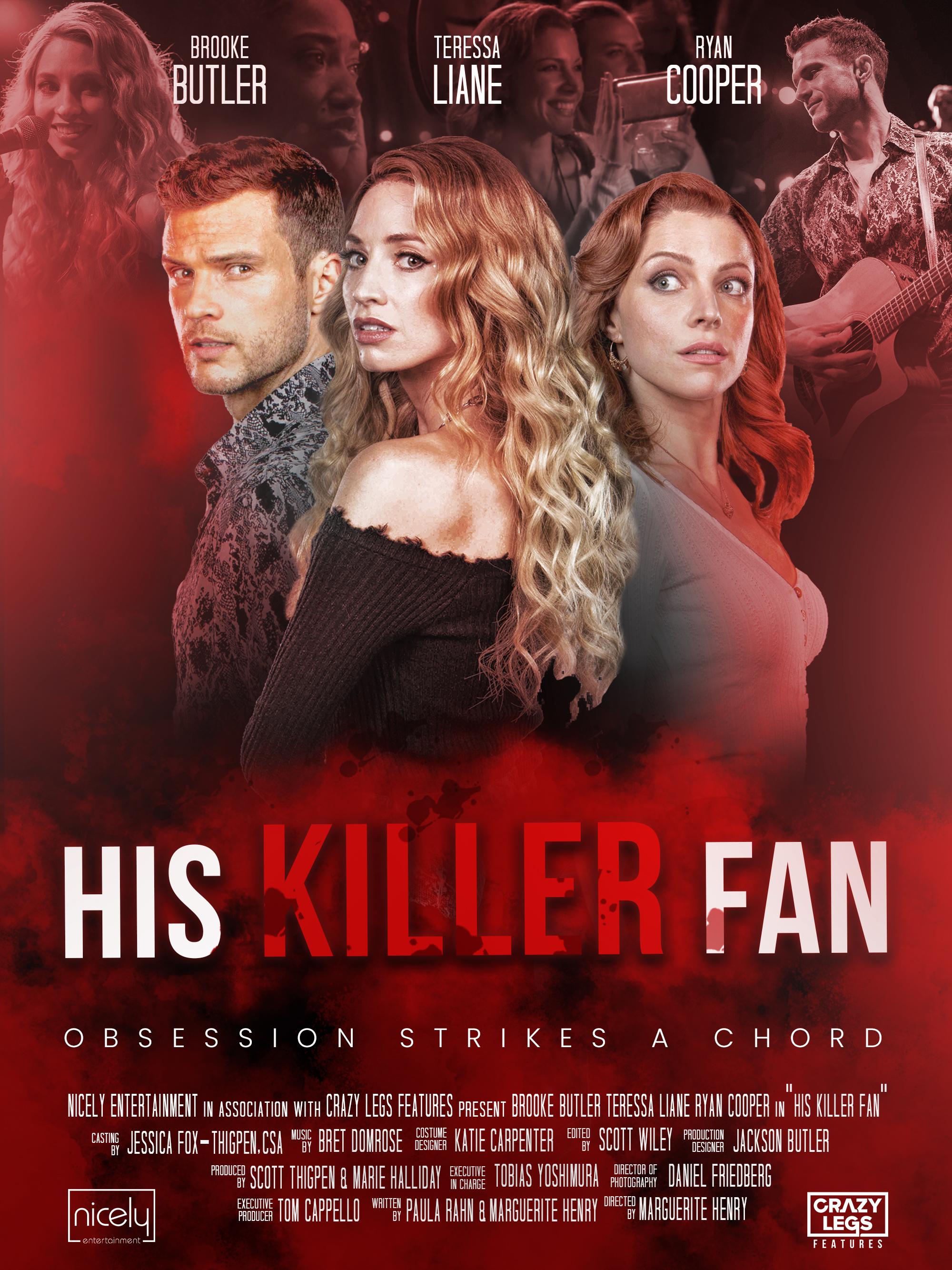 Download His Killer Fan (2021) WebRip 720p Full Movie [In English] With Hindi Subtitles FREE on 1XCinema.com & KatMovieHD.io