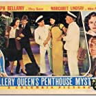Ralph Bellamy, Eduardo Ciannelli, Margaret Lindsay, George McKay, and Anna May Wong in Ellery Queen's Penthouse Mystery (1941)