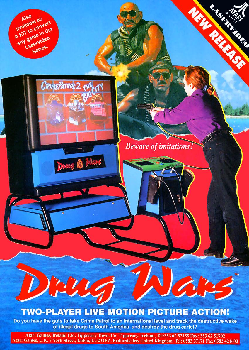 Crime Patrol 2: Drug Wars (Video Game 1993) - IMDb