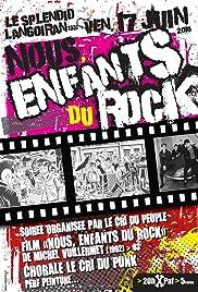 Enfants du rock Poster