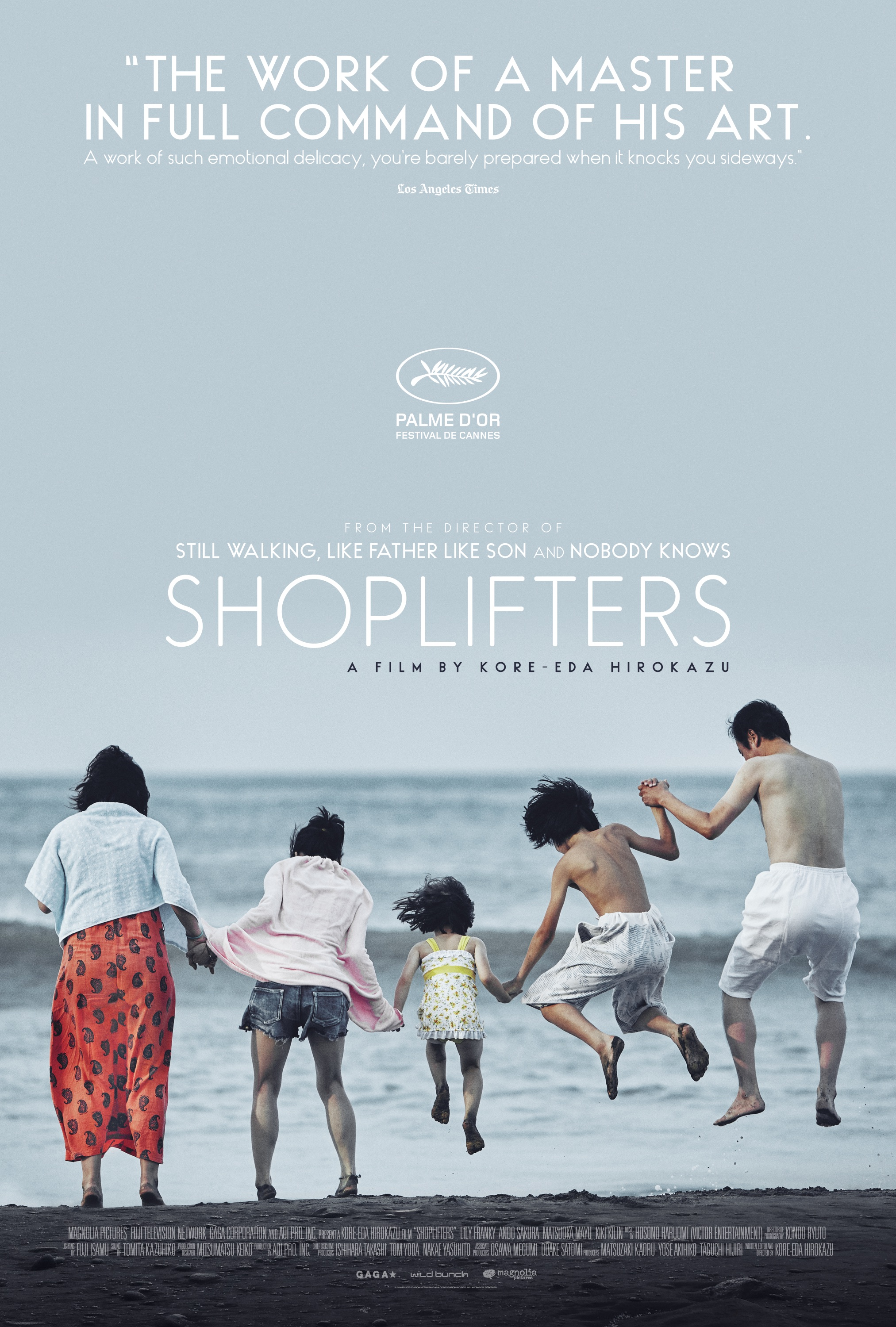 Image result for shoplifters poster