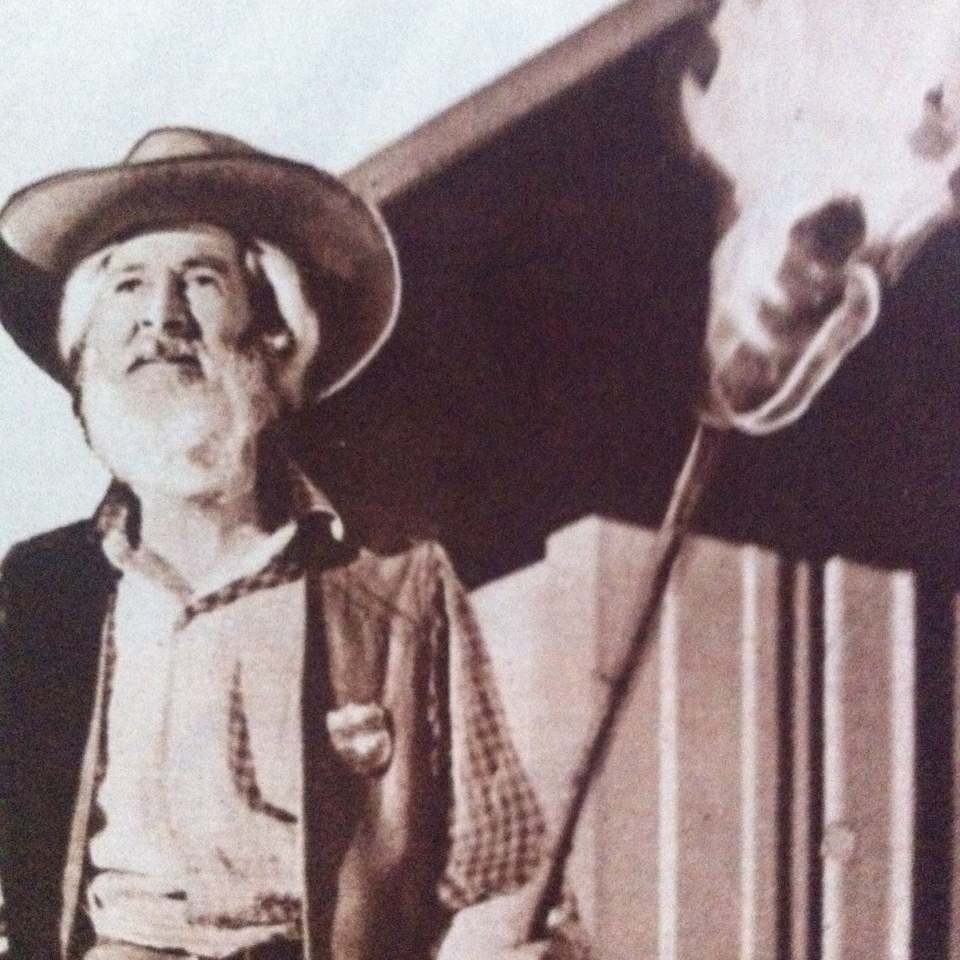 George 'Gabby' Hayes in Trail Street (1947)