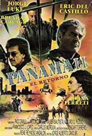 Brenda Careaga, Eric del Castillo, Diana Ferreti, Jorge Luke, and Xavier Bautista in Panama II: El Retorno (1992)