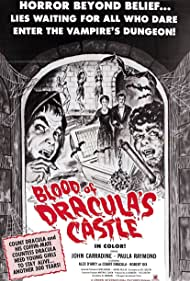 Blood of Dracula's Castle (1969) Poster - Movie Forum, Cast, Reviews