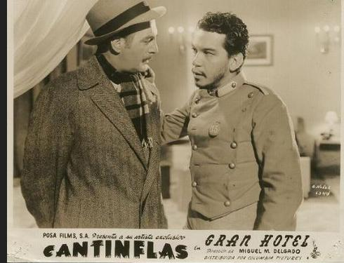 Cantinflas in Gran Hotel (1944)