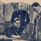 Franklin Adreon, William Arnold, Robert Frazer, and Robert Warwick in The Fighting Marines (1935)