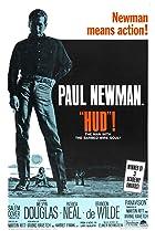 Hud (1963) Poster