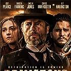 Guy Pearce, Dakota Fanning, and Kit Harington in Brimstone (2016)