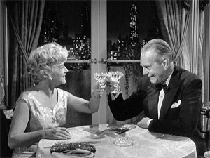 Raymond Massey and Claire Trevor in Dr. Kildare (1961)