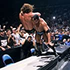 Chris Jericho and Dwayne Johnson in WWF No Mercy (2001)