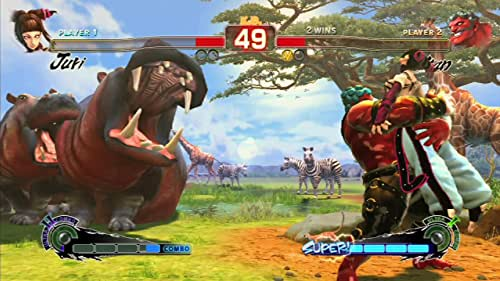 Super Street Fighter IV: Hakan Vs Juri (English Subtitled)