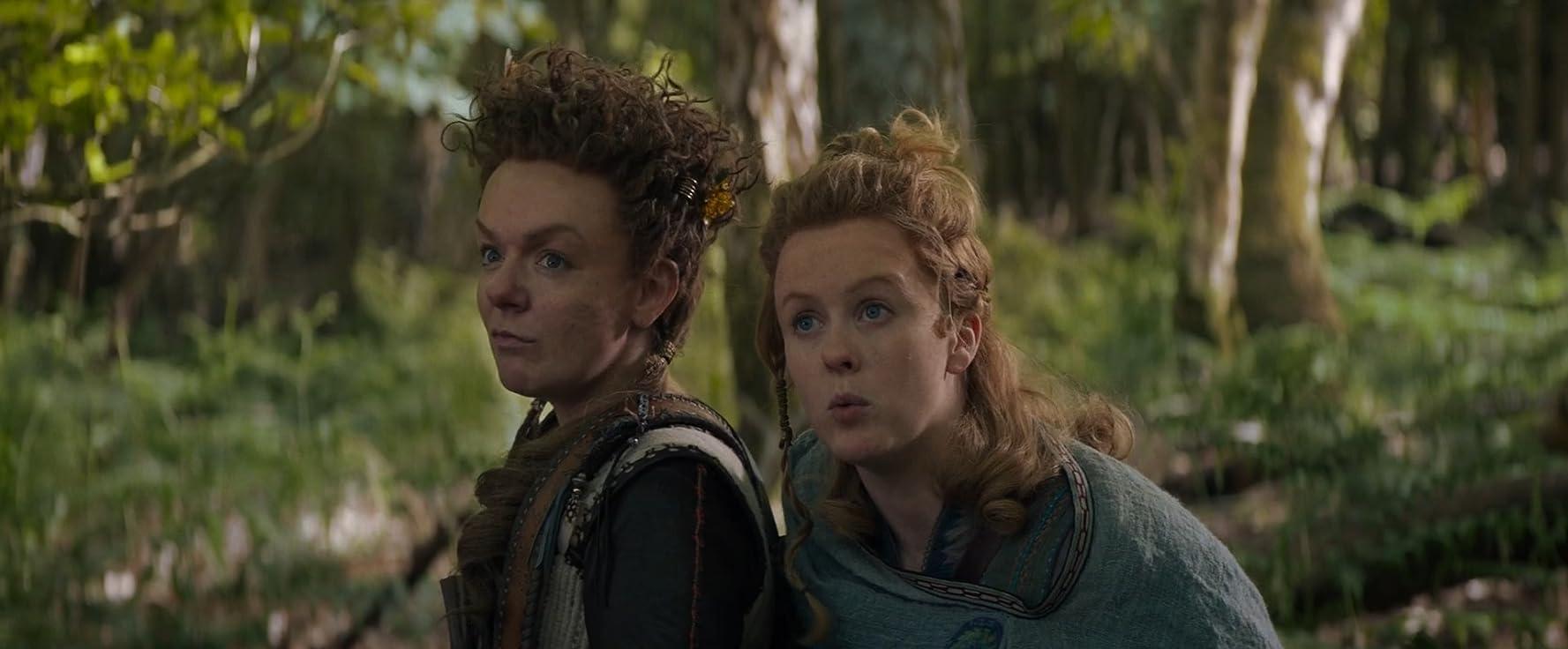 Sheridan Smith and Alexandra Roach in The Huntsman: Winter's War (2016)