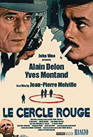 Alain Delon, Gian Maria Volontè, Bourvil, and Yves Montand in Le cercle rouge (1970)