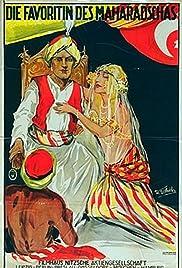 Maharadjahens yndlingshustru I Poster